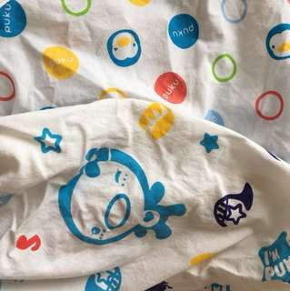 Puku Baby Cot Fitted Crib Sheet