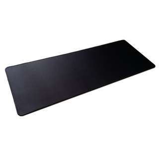 Plain Black Large Mousepad