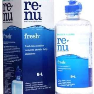 Bausch & Lomb Contact Lens solution