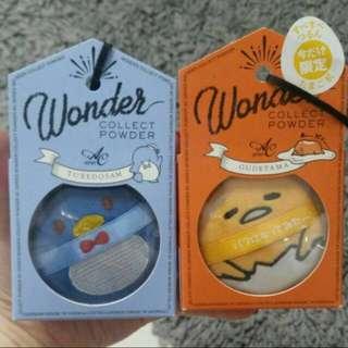 Sanrio wonder loose powder