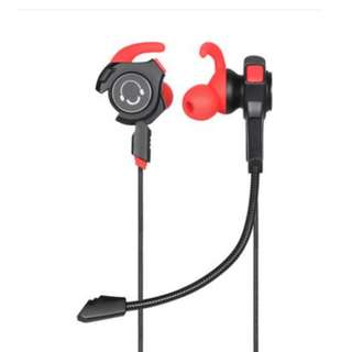 [QC3] 2-in-1 Gaming Earpiece with Removable & Built in Mic