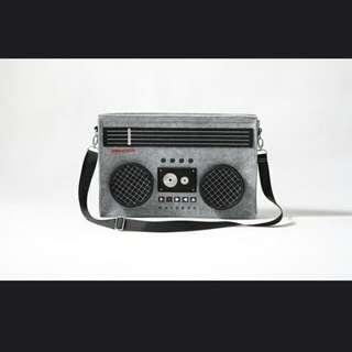 80's boombox radio LAPTOP BAG