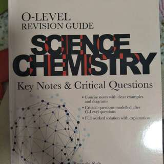 O Level Revision Guide - Science Chemistry
