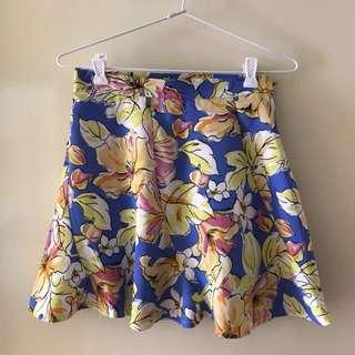 Valleygirl Floral Skirt