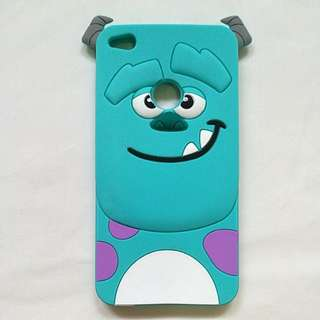 Huawei GR3 2017 Jelly Phone Case, Monsters Inc: Sullivan