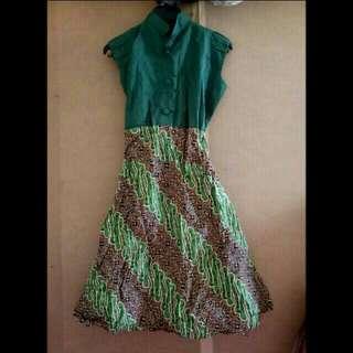 Turun Harga Dress Batik - No Nego