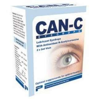 CAN-C Eye Drops 2x 5ml Vials