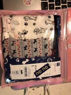全新GU shorts 3P