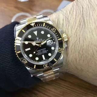 Rolex Submariner Gold Black (1:1)