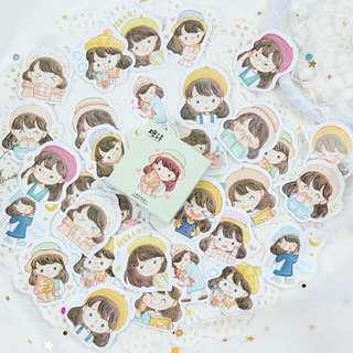 Cute Girl Sticker