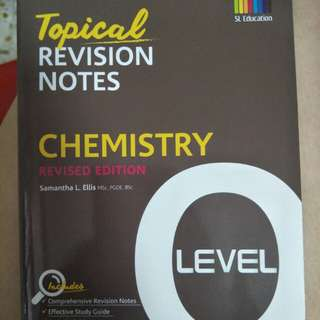 O Level Topical Revision Notes - Chemistry