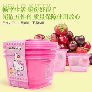HELLO KITTY 5 IN 1 FOOD BOX