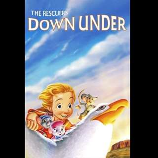 [Rent-A-Movie] THE RESCUERS DOWN UNDER (1990) [MCC004]