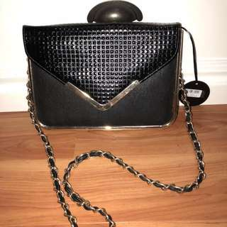 Colette Envelope Clutch with Chain