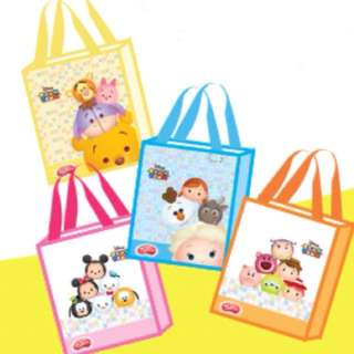 Disney Tsum Tsum Collectible Tote Bag (4 in a set)