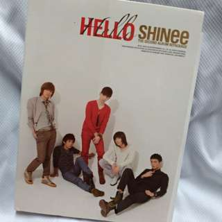 🚚 SHINee Hello台壓版專輯