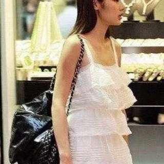 🈹🈹🈹半價 Chanel Jumbo Size 漆皮袋 98% New 樂基兒 黎姿 都有用過 型款   購於巴黎 原價 2萬幾  接近全新 無花無損 有單 有貼 無咭 可陪驗  現金交易