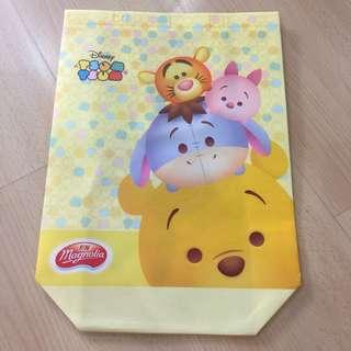 Disney Tsum Tsum Tote Bag (Yellow)