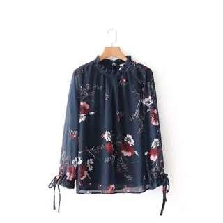 🔥Silk european Shirt Blouse Slim style