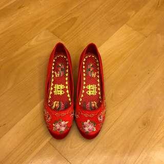 Chinese Wedding Shoes 中式裙褂鞋