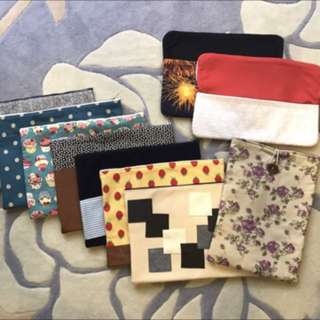 Quote your own price. POUCHES BAGS HANDMADE!