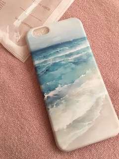 海洋風手機殼6s