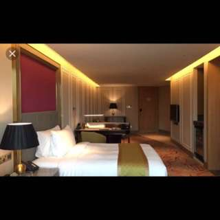 RWS Hotel suite room april stay (crockford or hard rock)