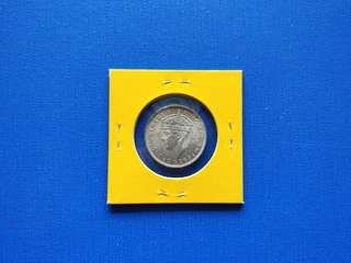 Coin Strait settlement King George video 20 cents  UNC