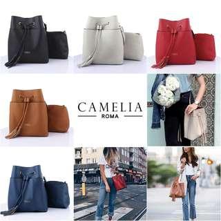 CAMELIA  ROMA Bucket Bag  #Y218