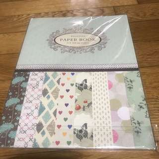 wrapping paper book(2 X 8gift tag 16piece)
