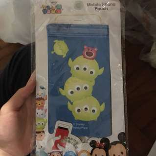 Tsum tsum mobile phone pouch