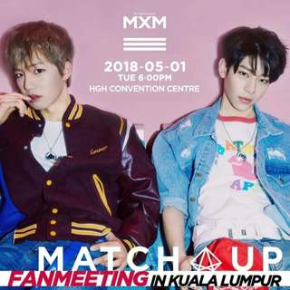 Ticket MXM Fanmeeting