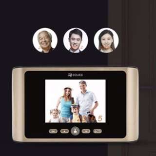 Home Security/Safety for ChiNever Miss A Visitor Again with EQUES Digital Door Viewer/Door Bell