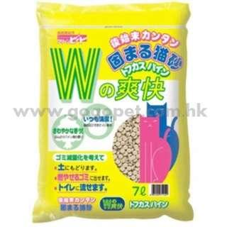 W 爽快圓片豆腐砂7L (行貨)