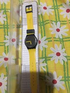 Swatch original yellow