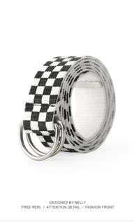 BN Checkered Belt
