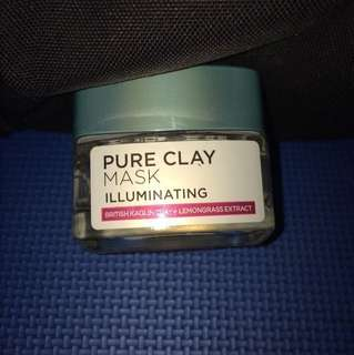 L'oreal clay mask illuminating