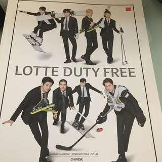 Lotte EXO magazine