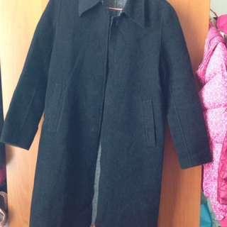 b + ab 絨外套 長褸 coat