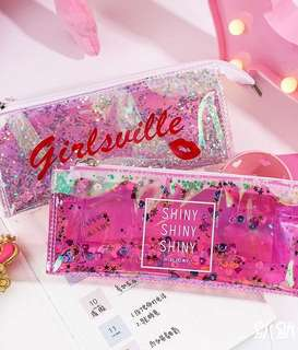 Glitter-fall pencil case 💎Pre-order!💎