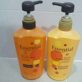 (FIXED PRICE) Essential Nourishing Breakage Defense Hair Shampoo & Conditioner