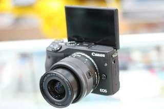 Kredit mirrorless canon M3 30 menit bisa langsung ambil barangnya