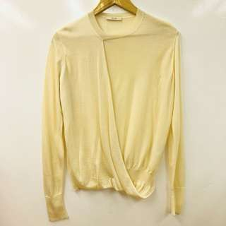 Celine cream white sweater size S