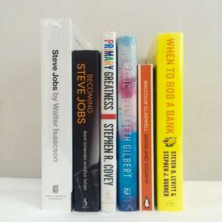 SALE: Business, Psychology, Self-Help Books
