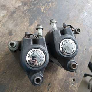 84-99 HD harley davidson dual brake calipers