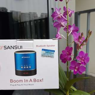 NEW ! 🎵🎶SANsui Bluetooth SPEAKER