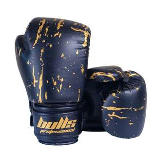 Bulls Professional Action Boxing Gloves with Hand Wraps
