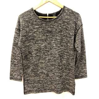 J.crew gray sweater top size XS