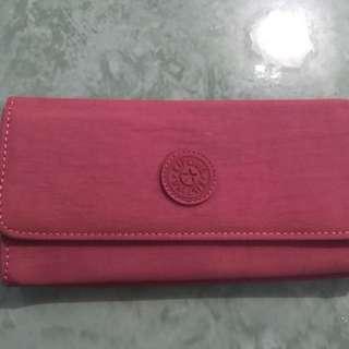 Kipling wallet (pink)