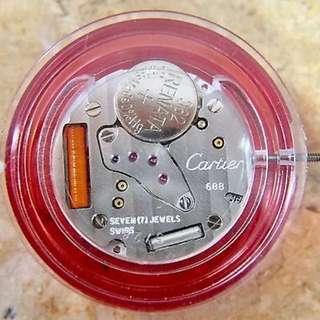 Cartier 688 機芯